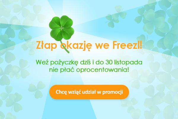 Zima już blisko: weź pożyczkę dziś i do końca listopada nie płać oprocentowania, oferta jest dla wszystkich klientów!