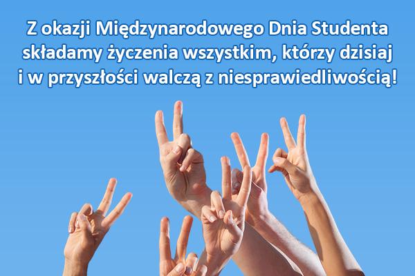 Dlaczego 17 listopada należy świętować Międzynarodowy Dzień Studenta, bez względu na to, jak dawno skończyłeś studia