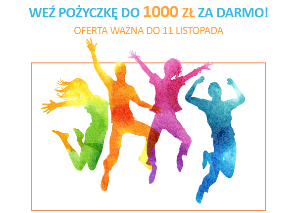 Pożyczka do 1000 zł - za darmo! Prezent dla nowych klientów z okazji Święta Niepodległości