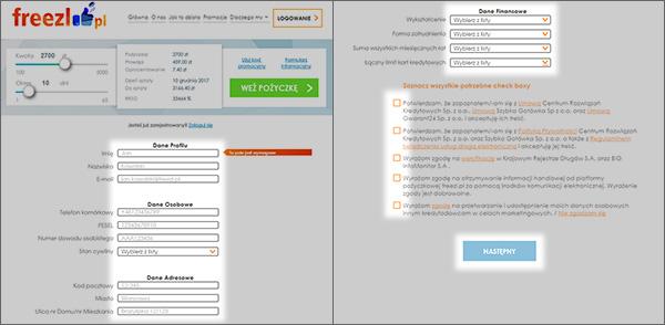 Sekrety systemu szybkich pożyczek Freezl: jak poprawnie złożyć wniosek i otrzymać pieniądze (instrukcja krok po kroku)