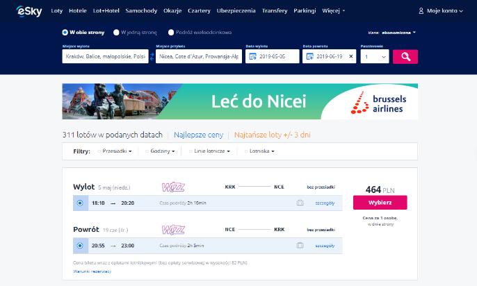 Wyruszamy w podróż: jaki serwis wybrać, aby wyszukać bilety - skyscanner czy esky