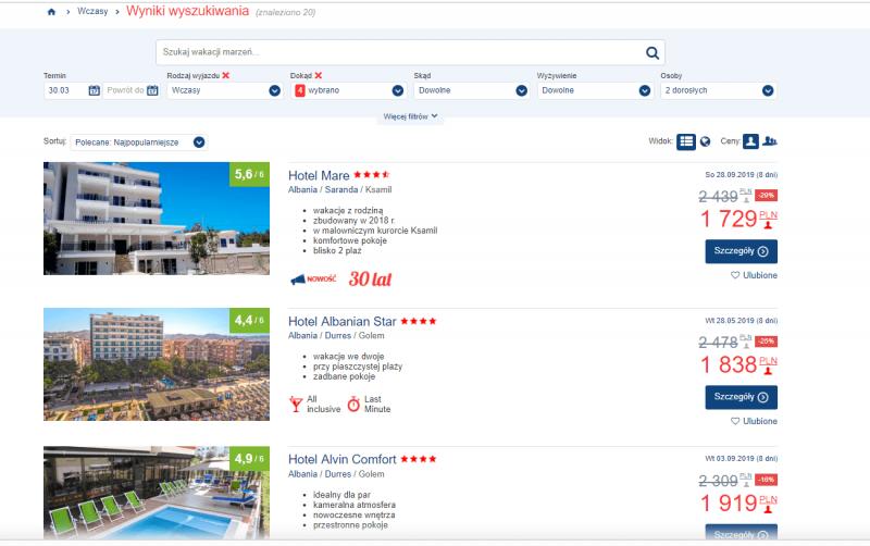 Ceny w Albanii: na jakie koszty podróży warto się nastawiać będąc turystą z Polski